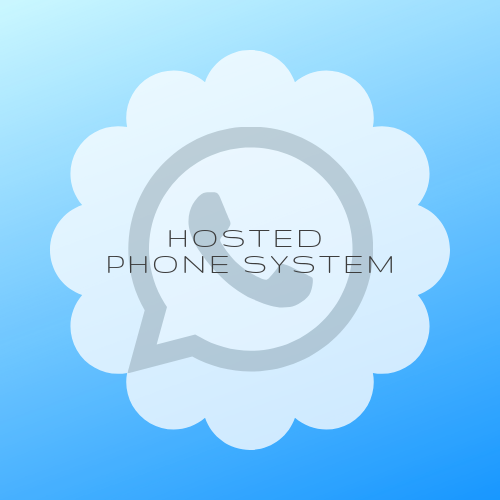 Hosted phone system in the cloud