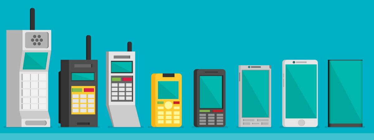 How mobile phone technology has changed over the last 40 years | Netstar IT Support