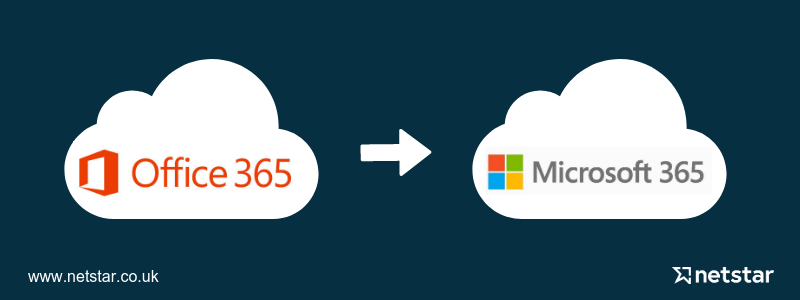 office 365 to microsoft 365