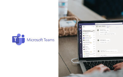 remote working Microsoft Teams