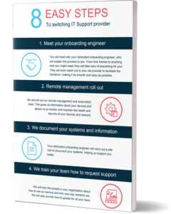 8 easy steps to switching IT partner